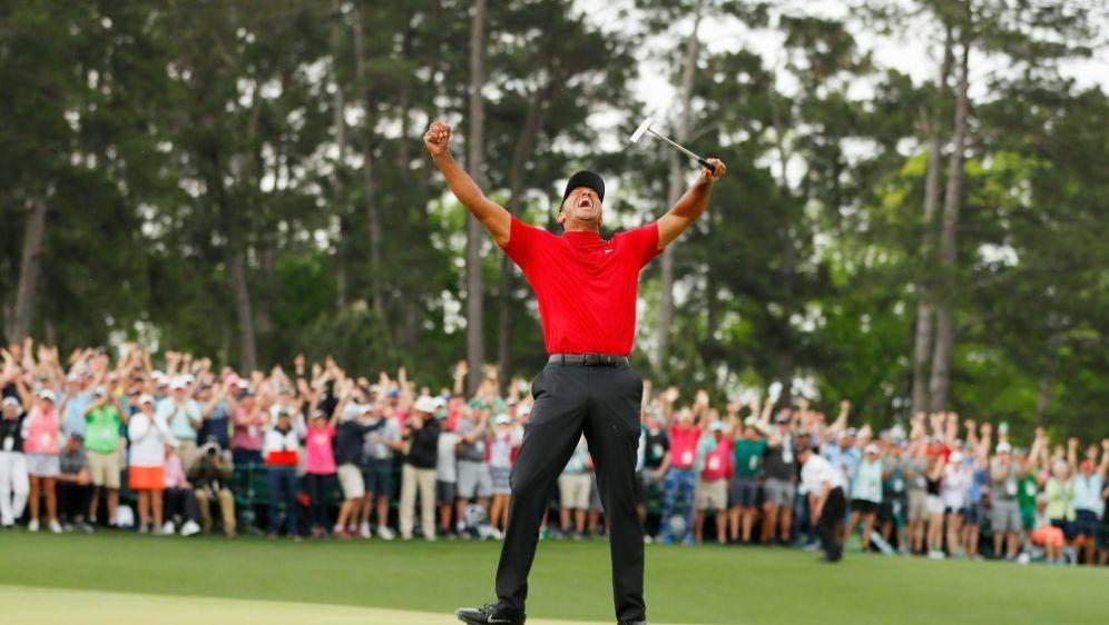 Tiger Woods: Glückwünsche von höchster Stelle - Bildquelle: GETTY IMAGES NORTH AMERICAGETTY IMAGES NORTH AMERICASIDKevin C. Cox