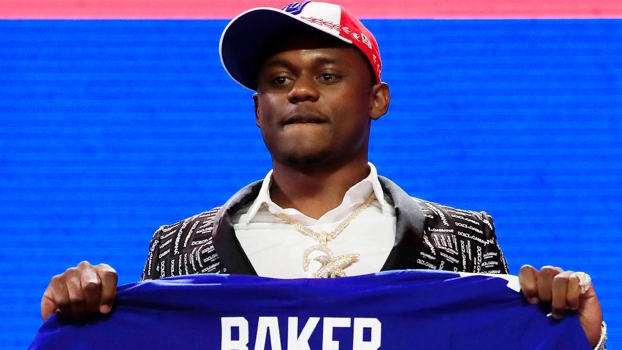 30. Pick - New York Giants: CB DeAndre Baker (Georgia) - Trade mit Seattle Seahawks, Green Bay Packers und New Orleans Saints - Bildquelle: 2019 Getty Images
