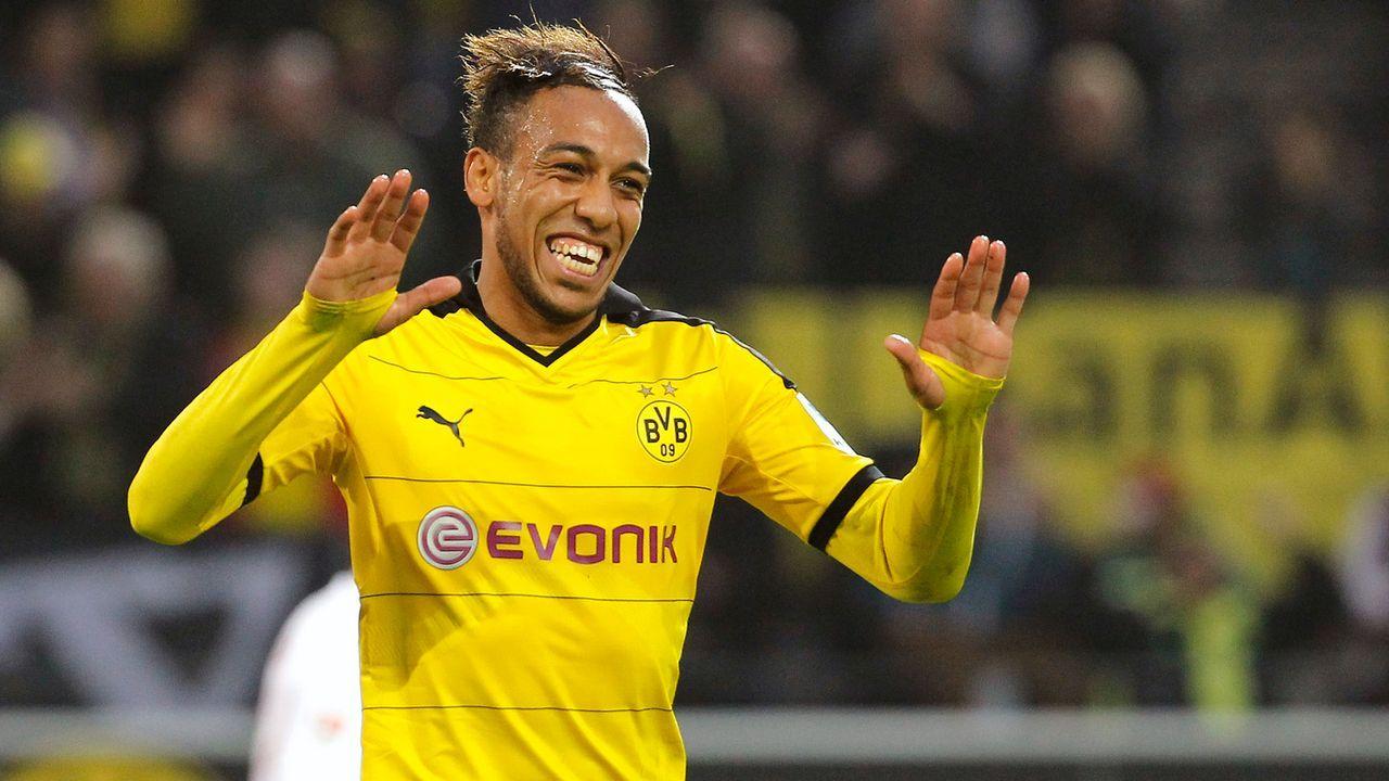 Pierre-Emerick Aubameyang (Borussia Dortmund) - Bildquelle: 2015 Getty Images