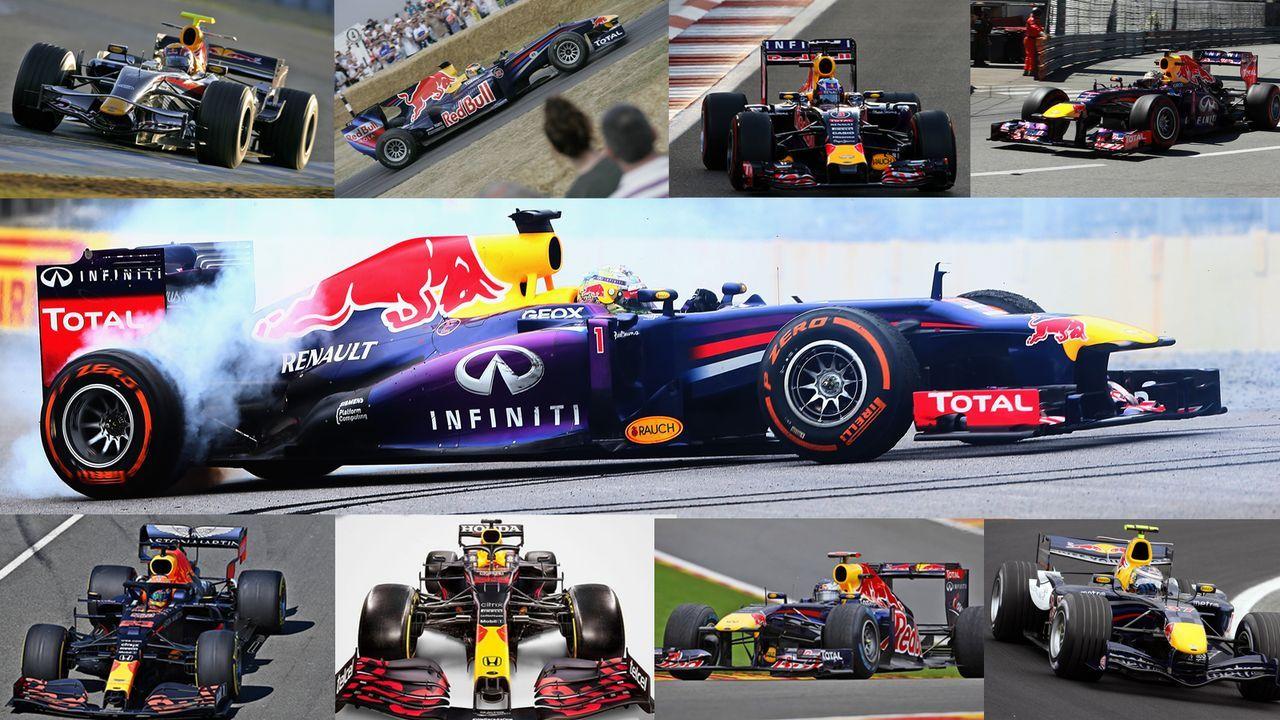F1: Red Bull im Wandel der Zeit