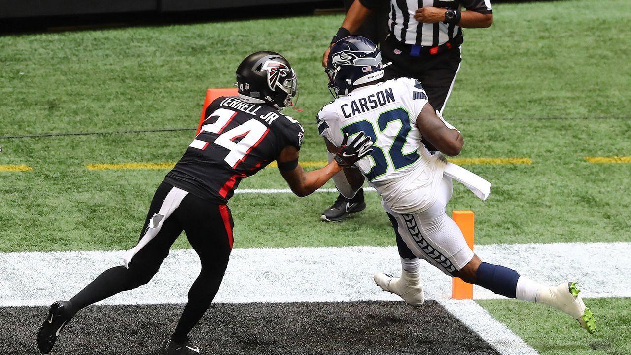 A.J. Terrell (Cornerback, Atlanta Falcons) - Bildquelle: imago images/ZUMA Wire