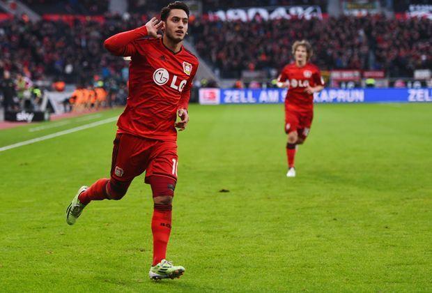 Platz 8: Hakan Calhanoglu (Bayer 04 Leverkusen) - Bildquelle: 2014 Getty Images