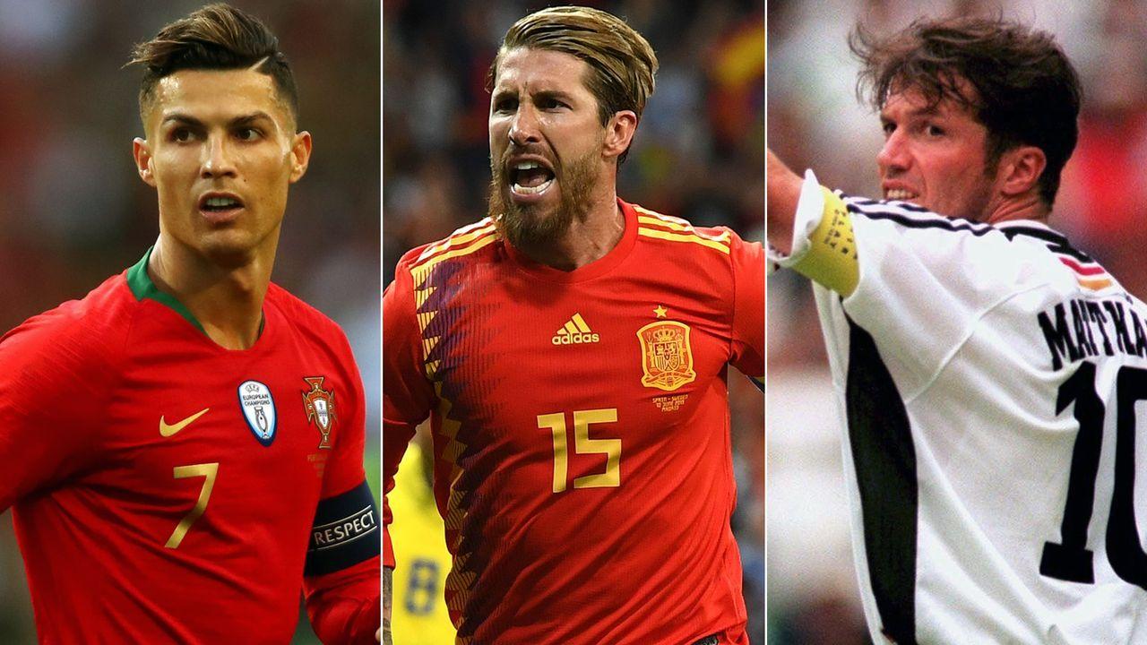 Sergio Ramos und Co.: Die Rekordspieler der Top-Nationen - Bildquelle: Getty Images/Imago