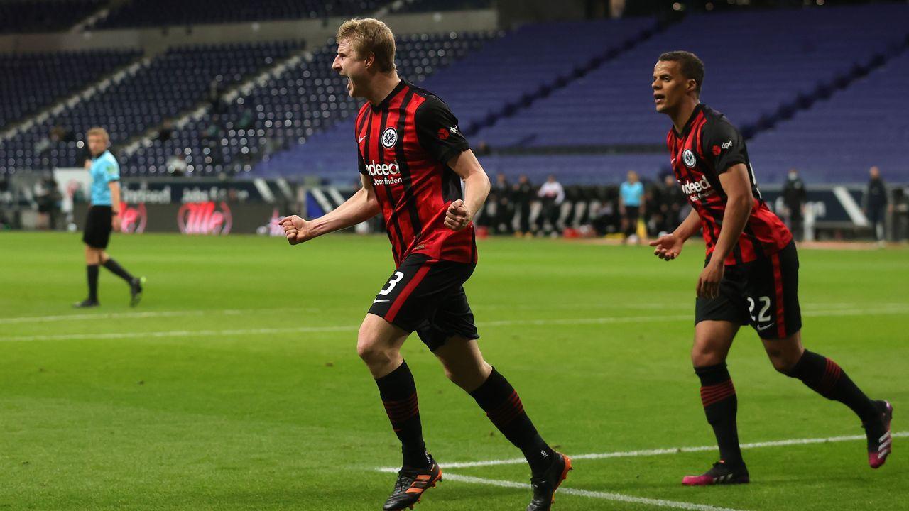 Platz 3: Eintracht Frankfurt - Bildquelle: 2021 Getty Images