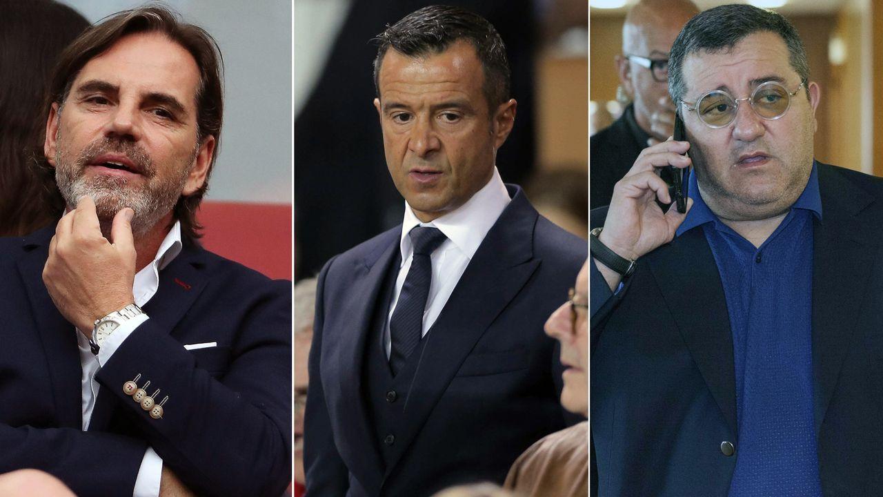 Top 8: Diese Spielerberater kassierten 2018 die höchsten Provisionen - Bildquelle: Getty Images/Imago
