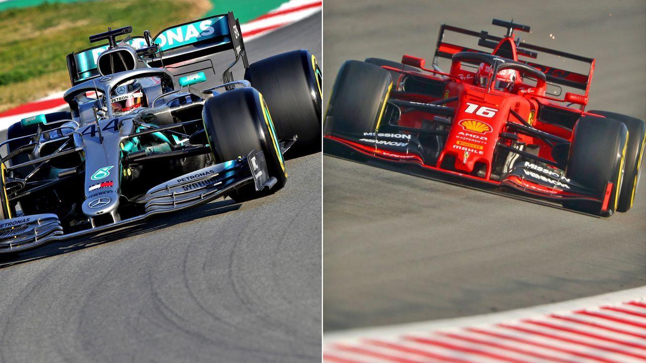 Das ran-Power-Ranking nach den F1-Testfahrten 2019 - Bildquelle: Getty