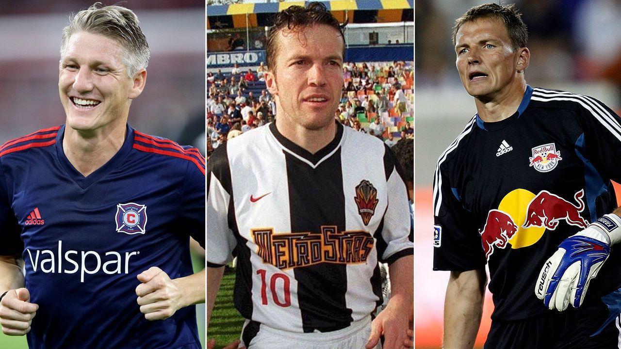 Diese deutschen Stars spielten bzw. spielen in der MLS - Bildquelle: Getty Images/Imago