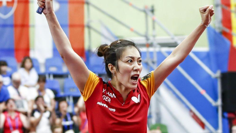 Gold in Sicht: Deutsche Tischtennis-Frauen im Finale - Bildquelle: PIXATHLONPIXATHLONSID