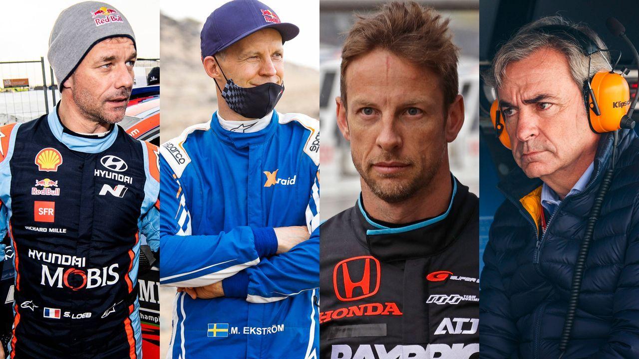 Button, Sainz, Ekström, Loeb: Die Stars der Extreme E - Bildquelle: Extreme E