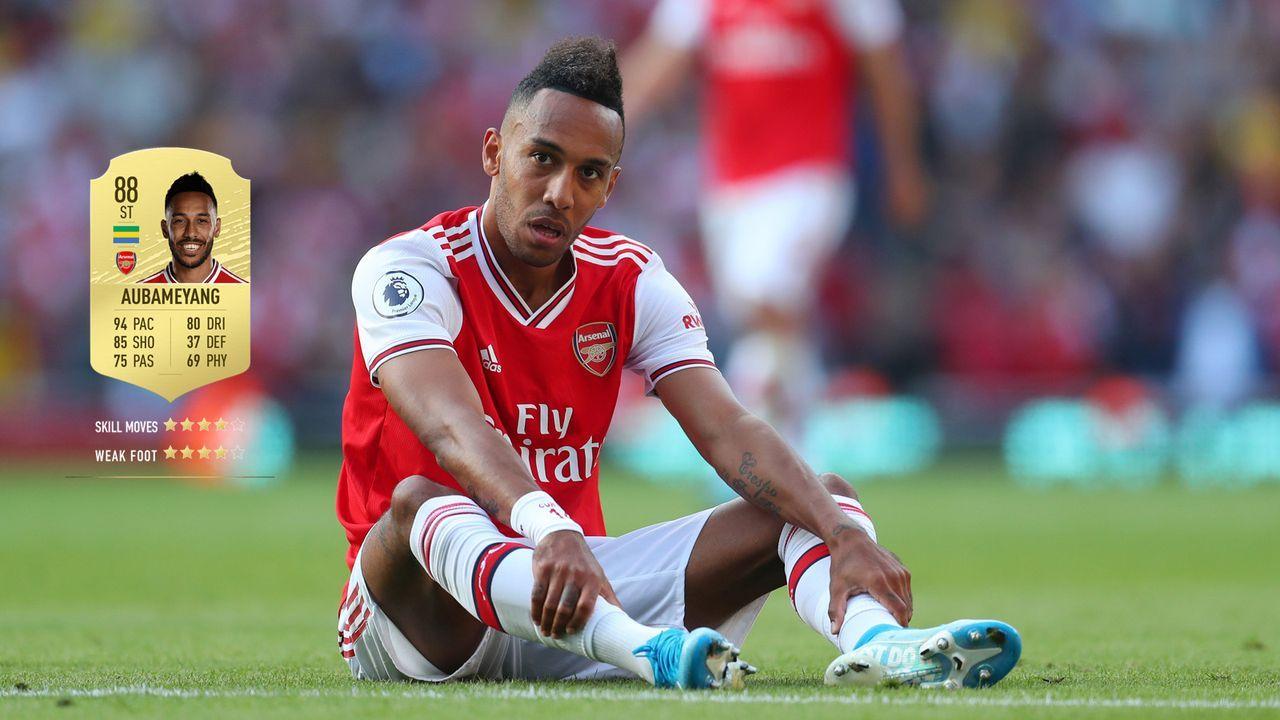 24. Pierre-Emerick Aubameyang (FC Arsenal)  - Bildquelle: 2019 Getty Images
