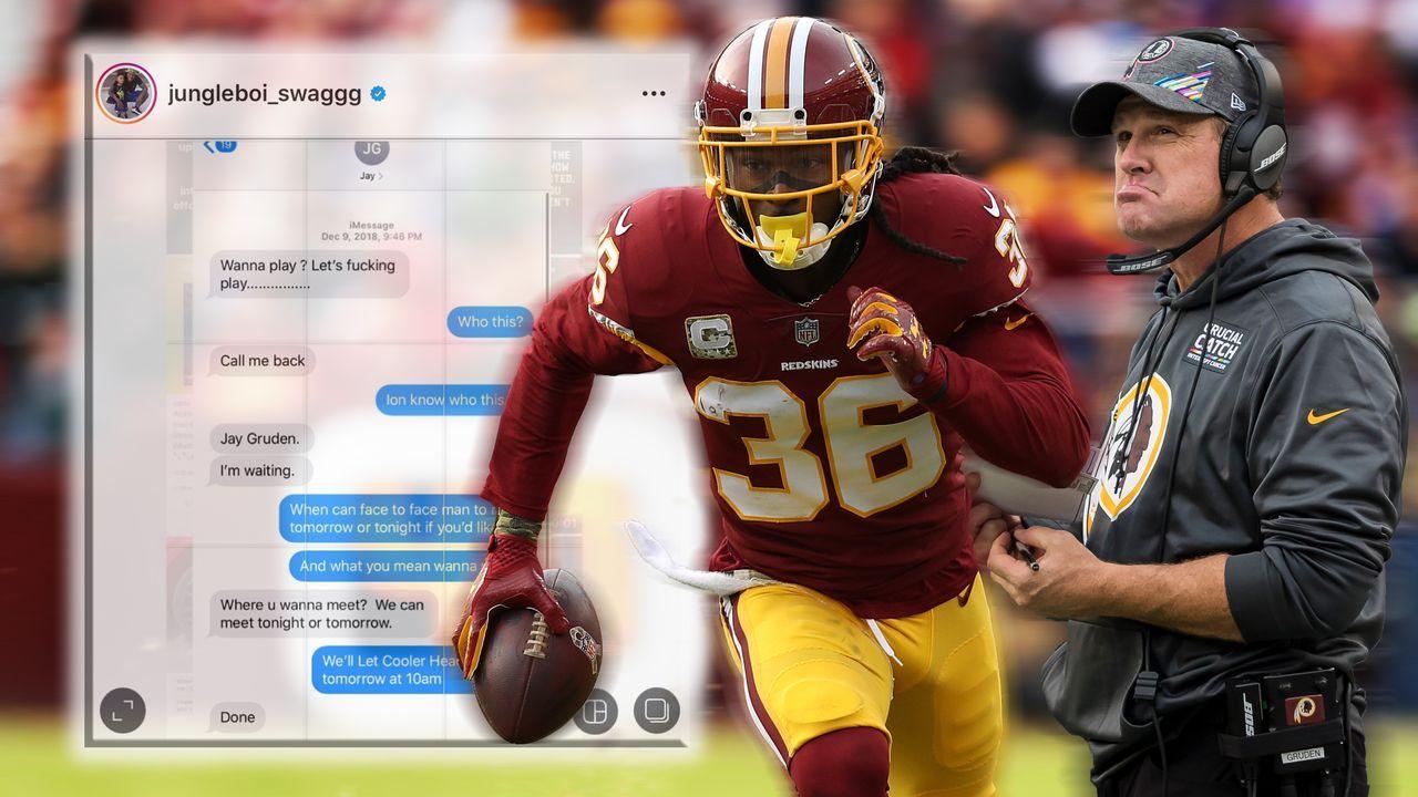 Nächste Redskins-Farce: D.J. Swearinger belastet Ex-Coach Jay Gruden schwer - Bildquelle: Getty Images