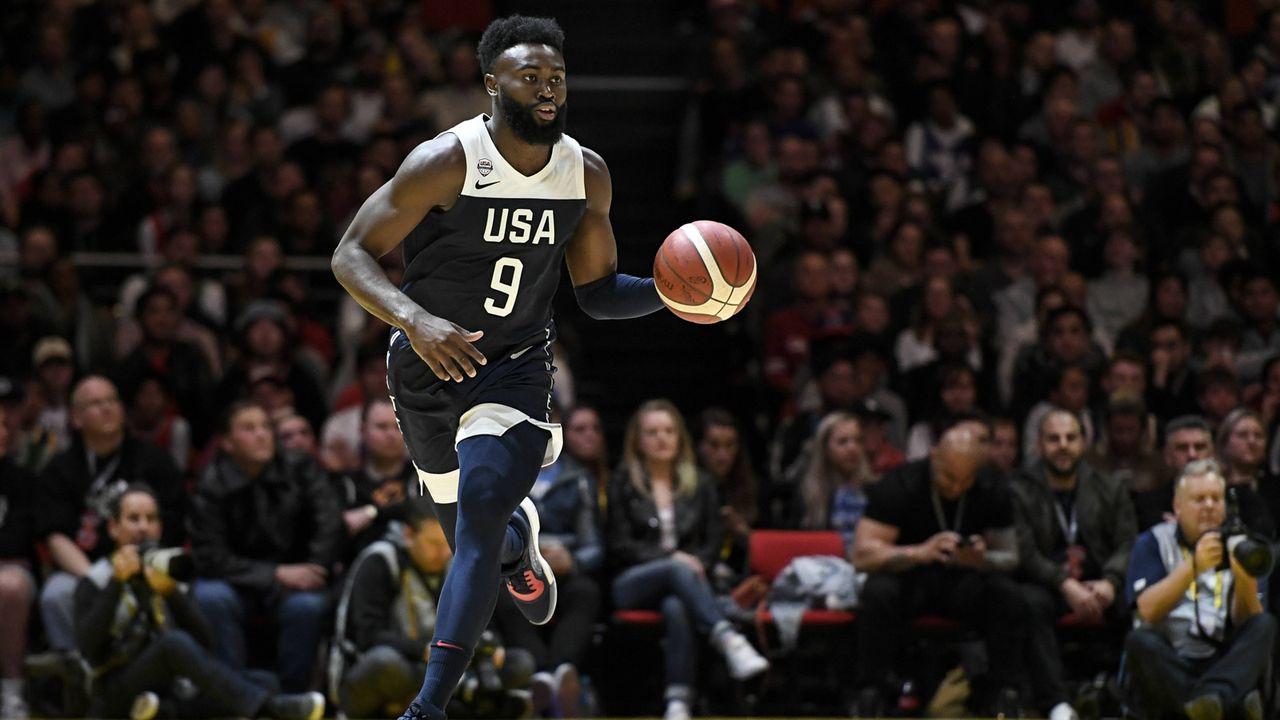 Jaylen Brown (22, USA)  - Bildquelle: imago images / Action Plus