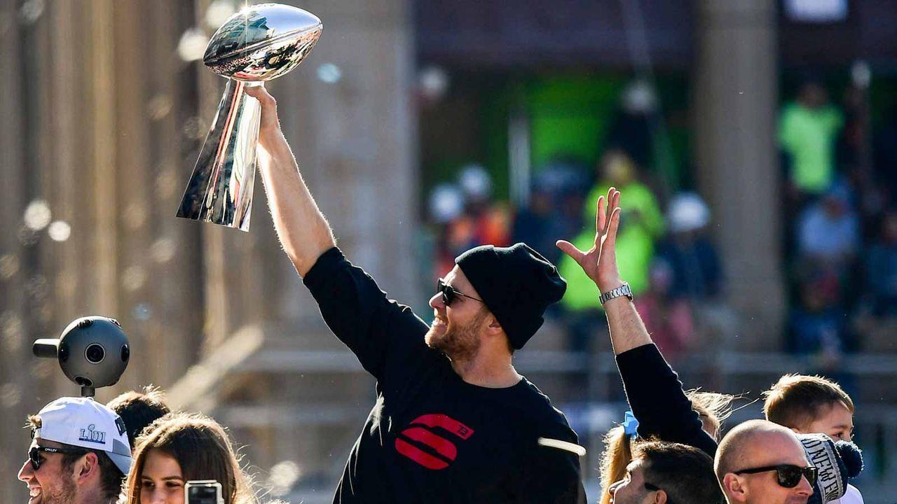 Tom Brady (41 Jahre) - Bildquelle: getty