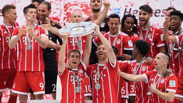 Platz 1: FC Bayern München - Bildquelle: 2017 Getty Images