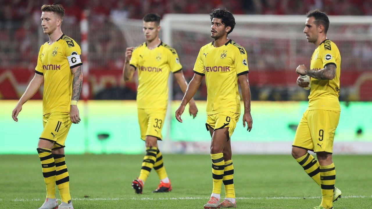 4. These: Borussia Dortmund fliegt in der Gruppenphase raus - Bildquelle: getty