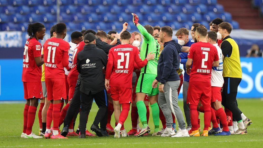 Hertha wurde in der Quarantäne zu einem eingeschworenen Haufen - Bildquelle: 2021 Getty Images