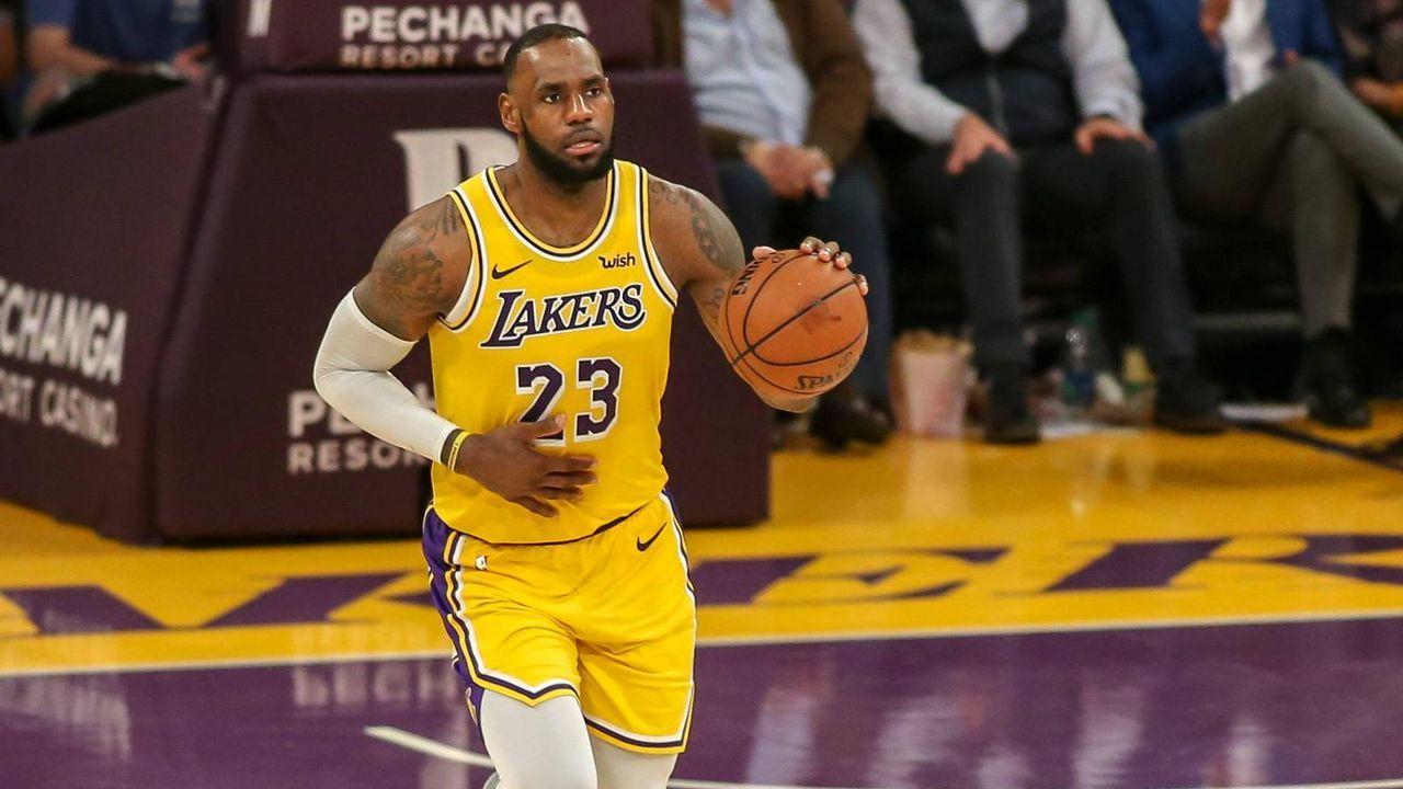 Platz 6: LeBron James, 50-Punkte-Spiele: 11 - Bildquelle: Imago