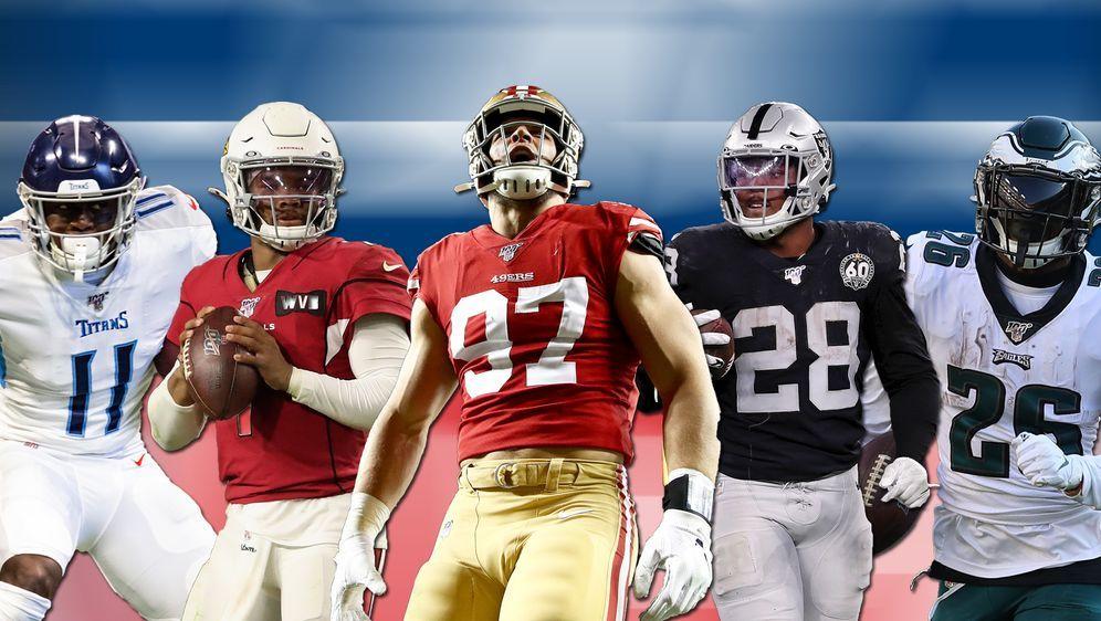 Das sind die Nominierten für den Pepsi NFL Rookie of the Year 2019 - Bildquelle: Getty Images
