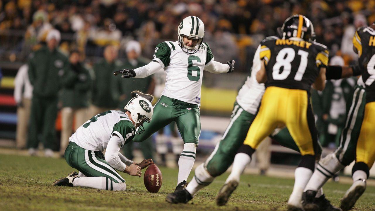 Season 2004: Doug Brien (New York Jets) - Bildquelle: 2004 Getty Images