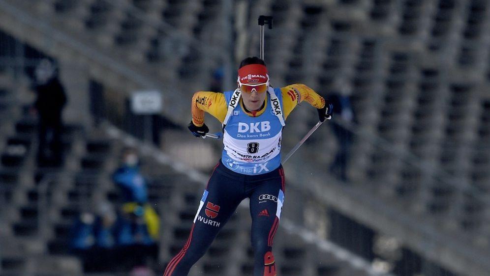 Denise Herrmann läuft in Nove Mesto auf Platz zwei - Bildquelle: AFPSIDMICHAL CIZEK