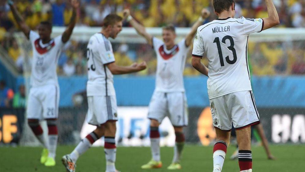 DFB-Auswahl ist offenbar das Team mit der besten Fitness - Bildquelle: SID-SID-AFP