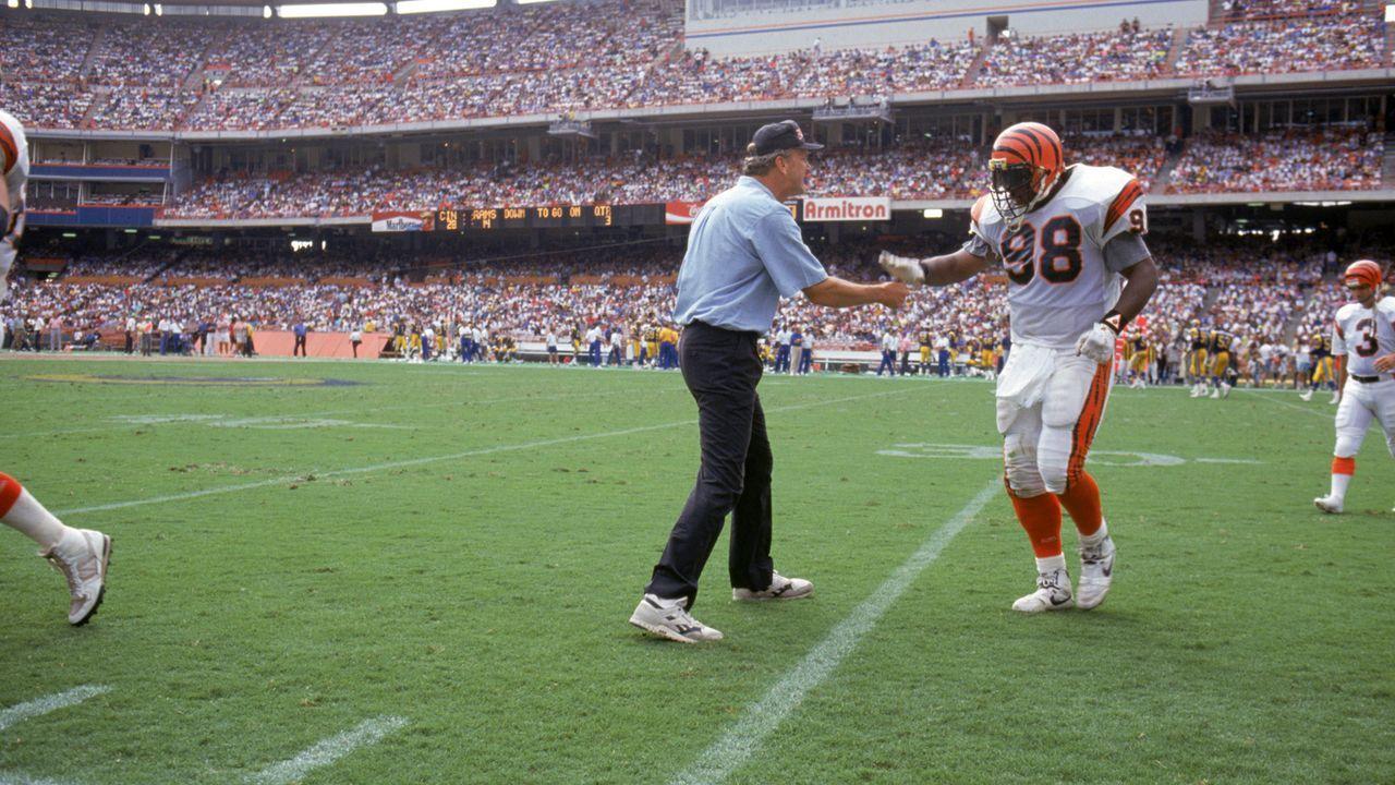 Platz 31: Cincinnati Bengals - Bildquelle: 1990 Getty Images
