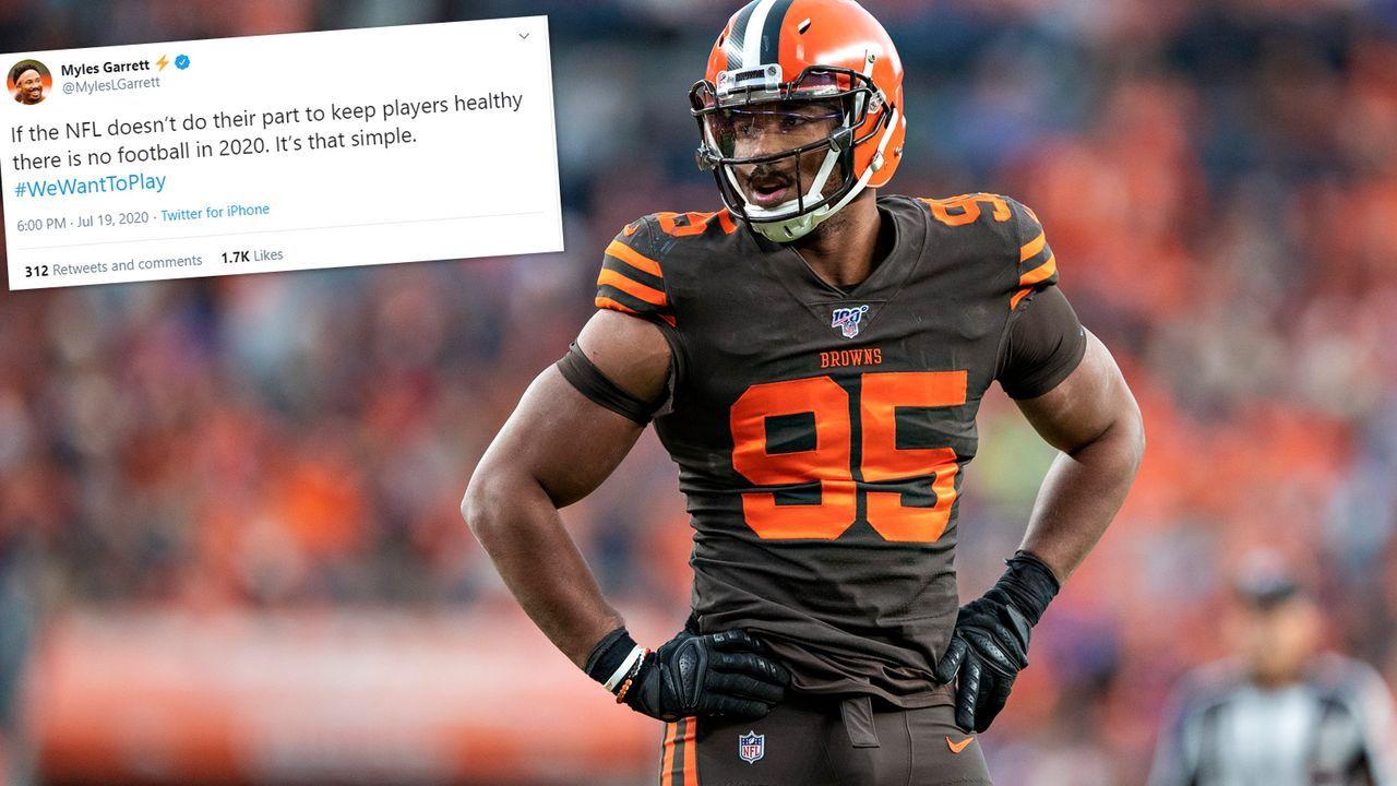 Myles Garrett (Cleveland Browns) - Bildquelle: 2019 Getty Images