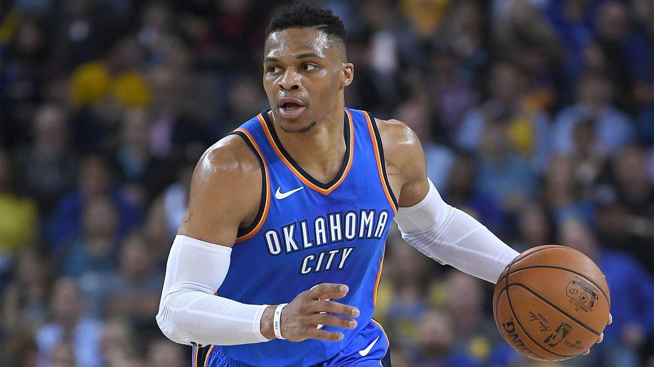 Platz 5: Russell Westbrook, Oklahoma City Thunder - Bildquelle: 2018 Thearon W. Henderson