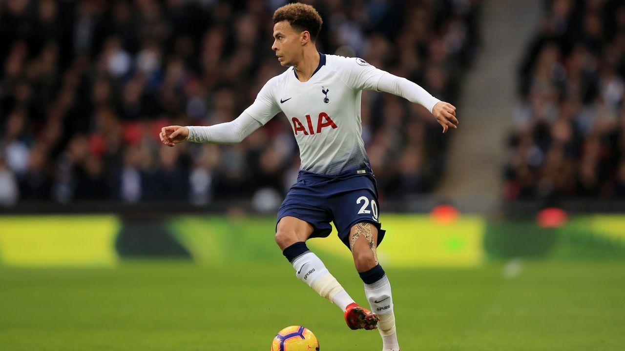 Platz 4 - Dele Alli (Tottenham Hotspur) - Bildquelle: 2018 Getty Images