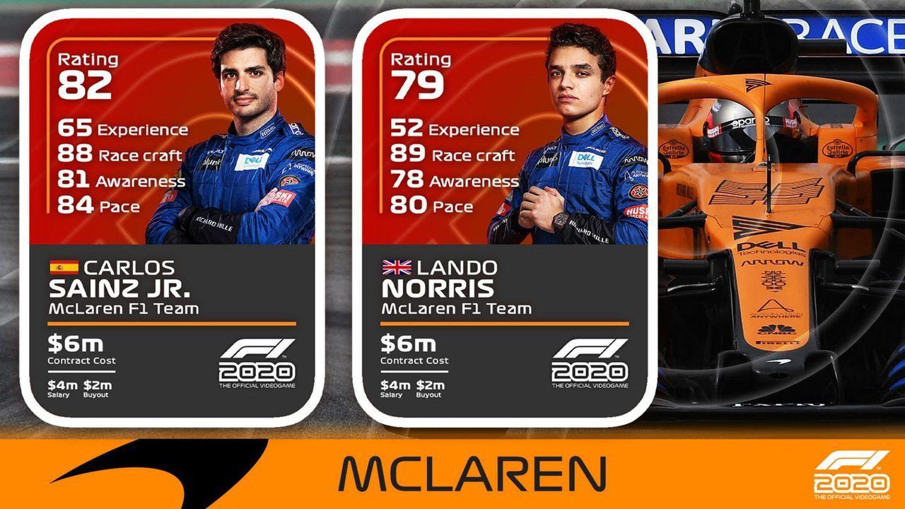 McLaren - Bildquelle: F1/Twitter
