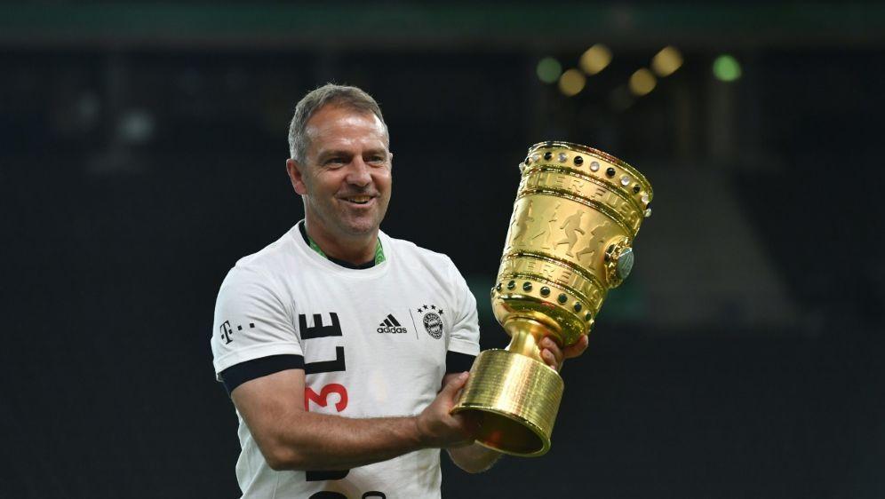 Flick gewann als Trainer erstmals den Pokal - Bildquelle: AFPSIDJOHN MACDOUGALL