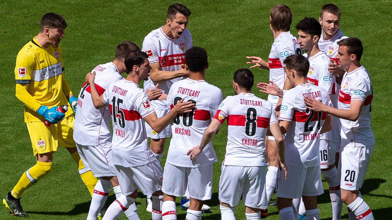 Platz 10: VfB Stuttgart (6,67 Millionen Euro) - Bildquelle: imago images/Eibner