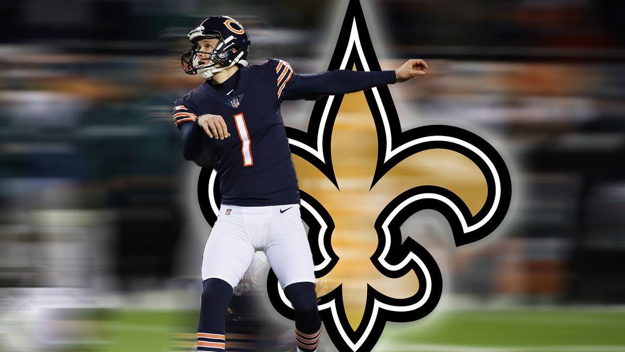 Cody Parkey (New Orleans Saints)  - Bildquelle: Getty Images