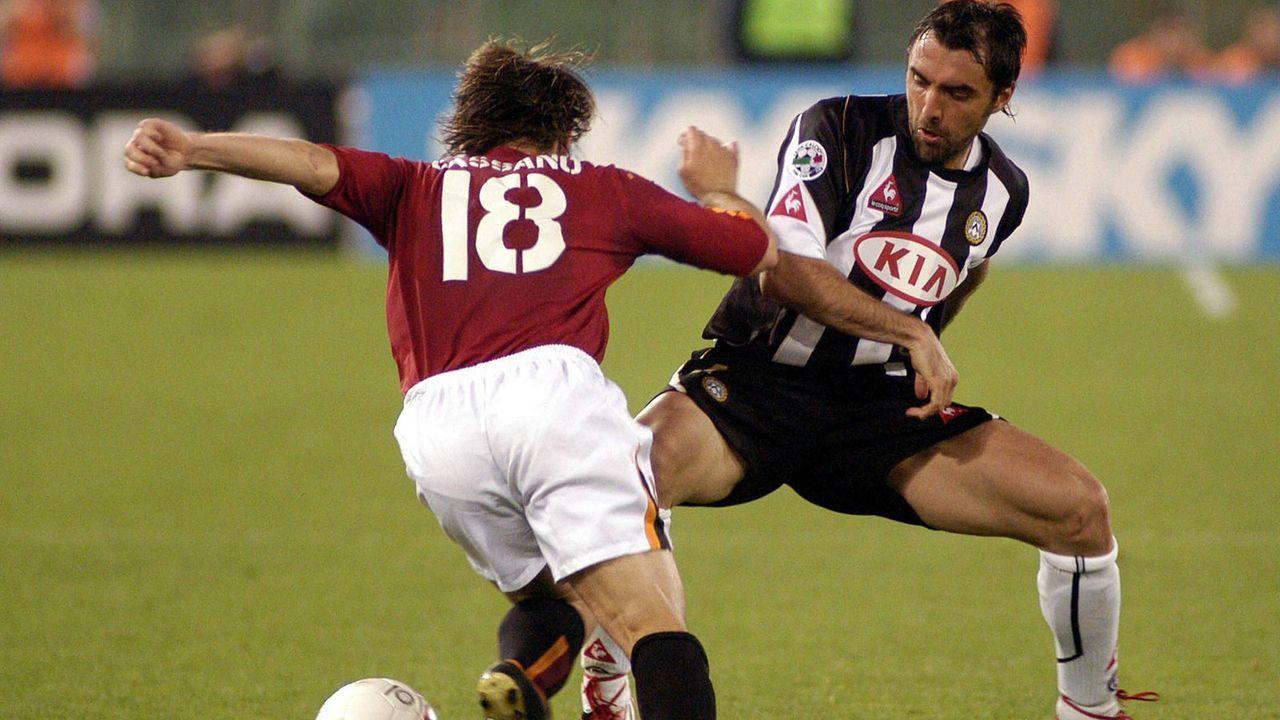 Platz 8: Antonio Cassano (18 Jahre/31 Millionen Euro) - Bildquelle: Imago Images