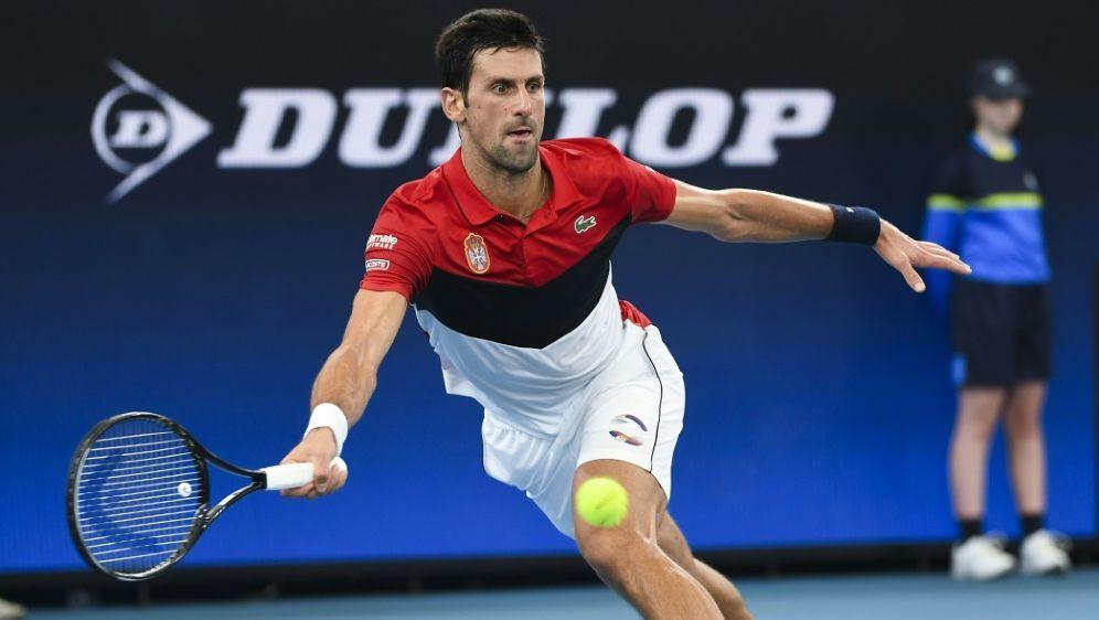Novak Djokovic mit Serbien im Finale - Bildquelle: AFPSIDWILLIAM WEST