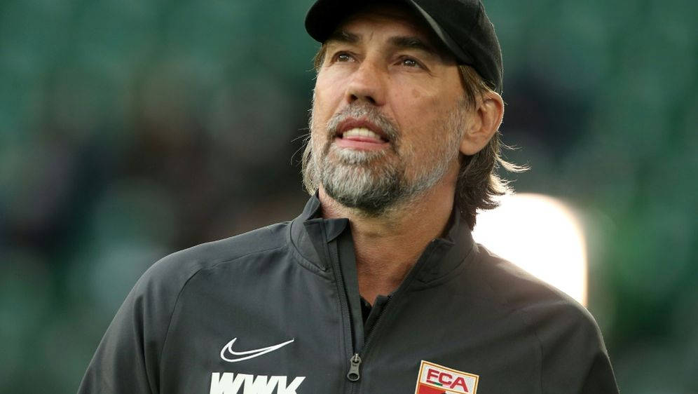 Schmidt sieht einen positiven Trend beim FC Augsburg - Bildquelle: PIXATHLONPIXATHLONSID