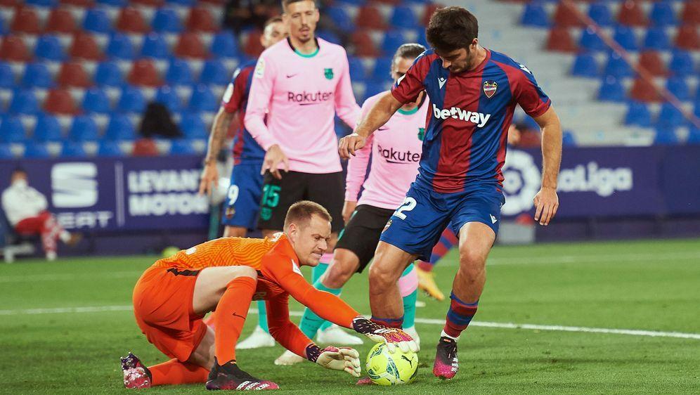 Nur Unentschieden für Barca in Levante - Bildquelle: Imago