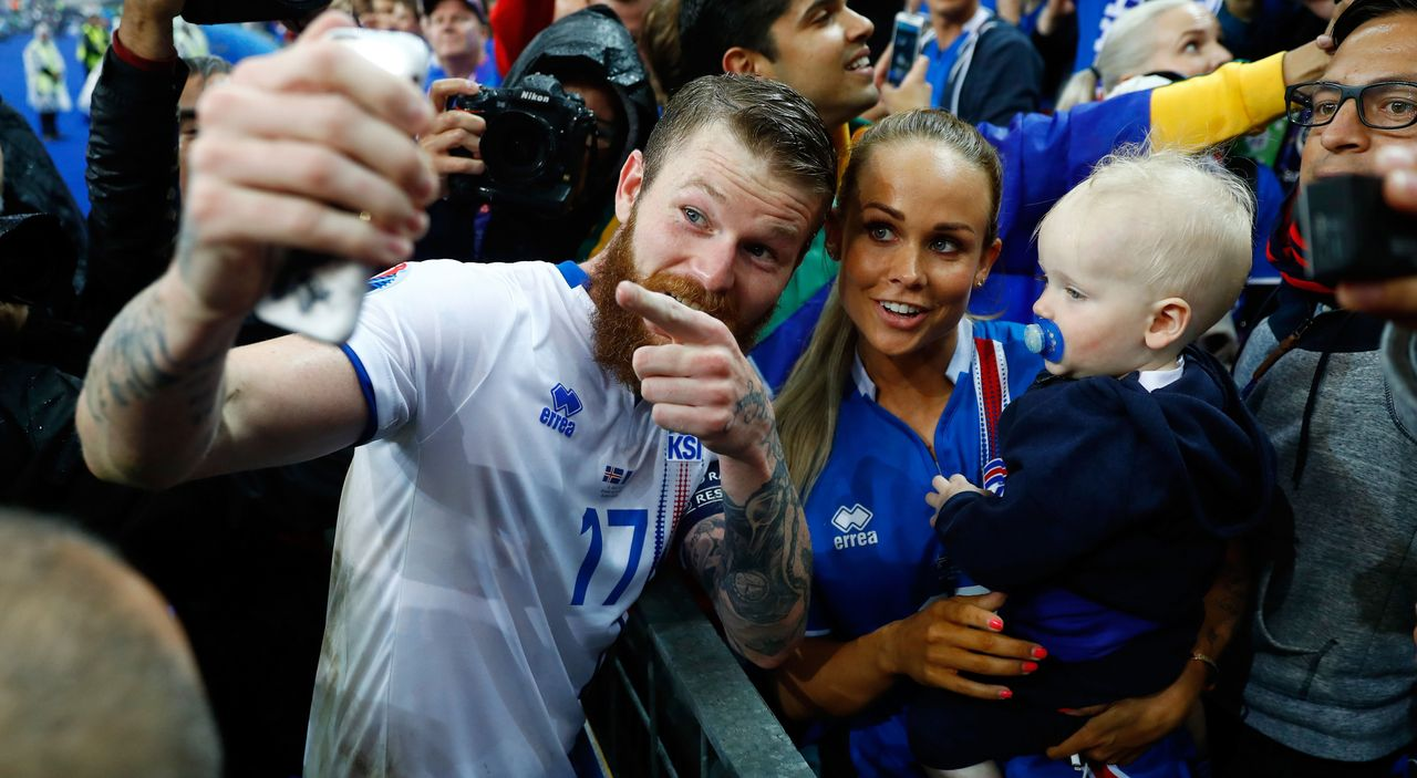 Aron Gunnarsson - Bildquelle: 2016 Getty Images