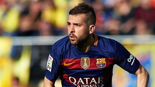 Jordi Alba - Bildquelle: 2016 Getty Images