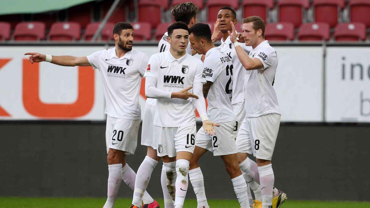 Platz 15: FC Augsburg - Durchschnittlicher Tabellenplatz der Gegner: 12,8  - Bildquelle: getty