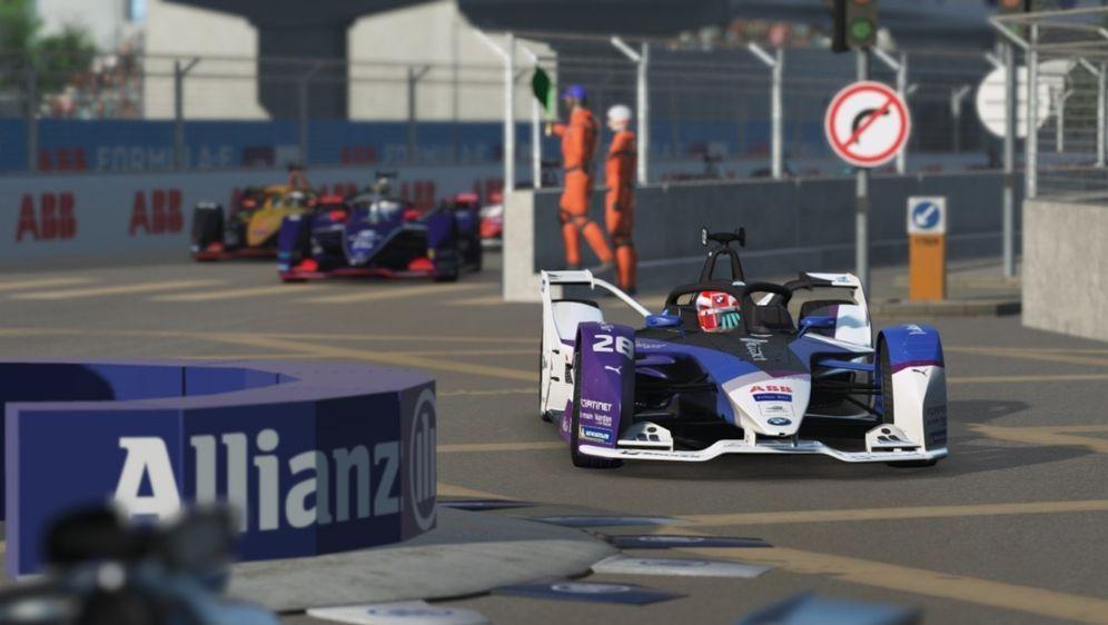 Maximilian Günther gewann das virtuelle Rennen in Hongkong. - Bildquelle: Formel E