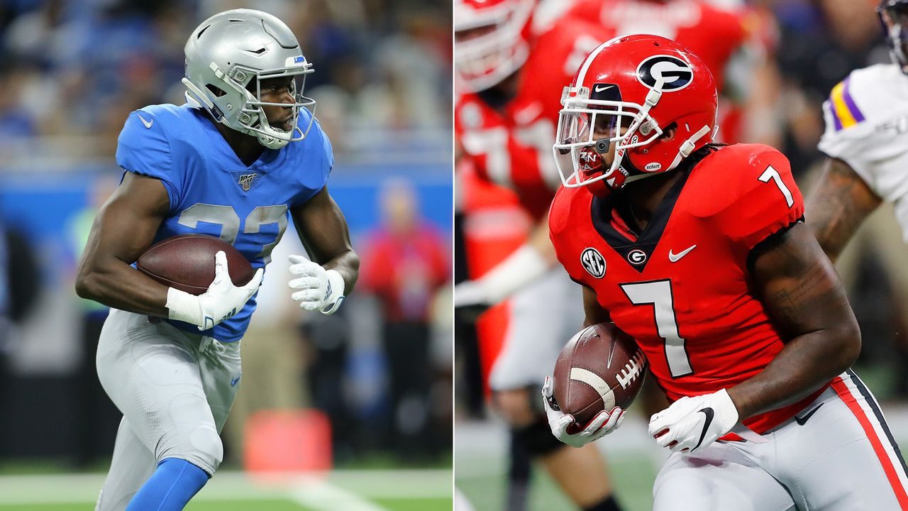 Kerryon Johnson vs. D'Andre Swift (Detroit Lions) - Bildquelle: getty