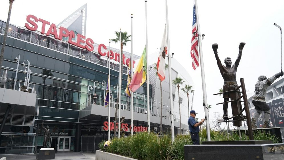 Schon bald könnten Fans ins Staples Center zurückkehren - Bildquelle: AFPGETTY SIDRACHEL LUNA