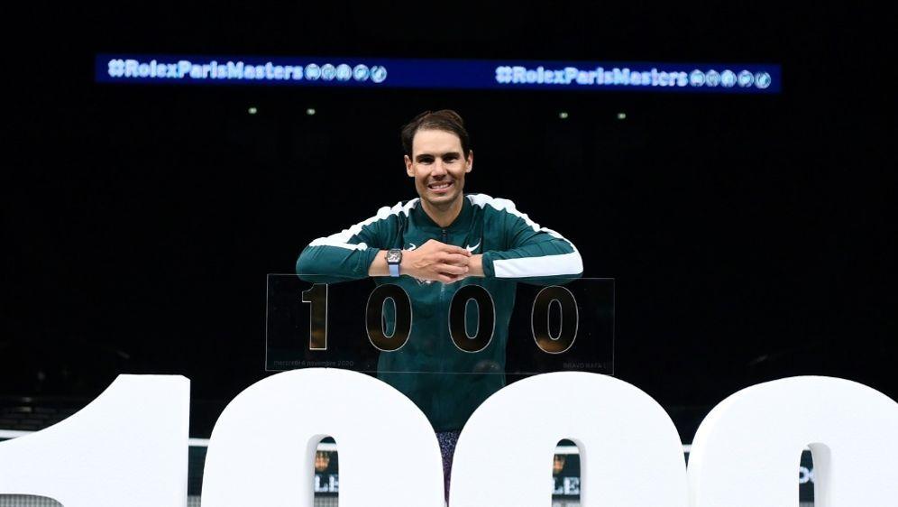1000. Sieg für Rafael Nadal - Bildquelle: AFPSIDFRANCK FIFE
