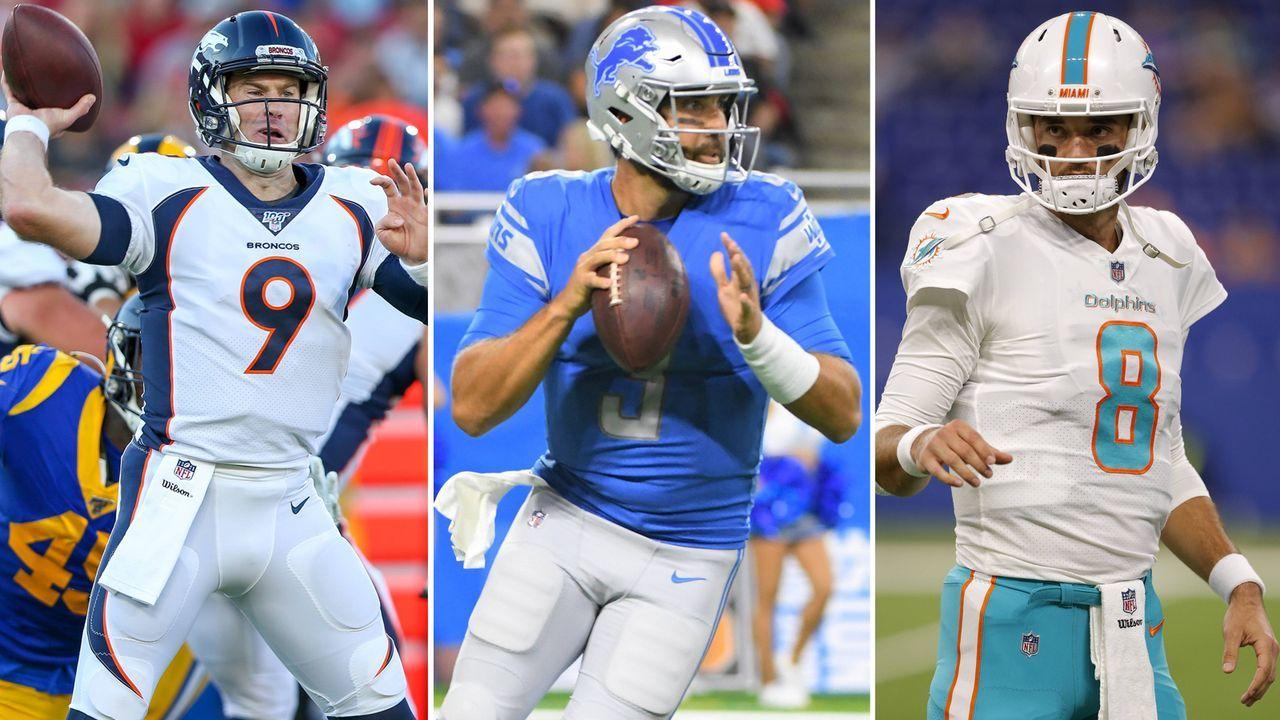 NFL: Diese Quarterbacks sind als Free Agent zu haben - Bildquelle: imago/Jan Huebner