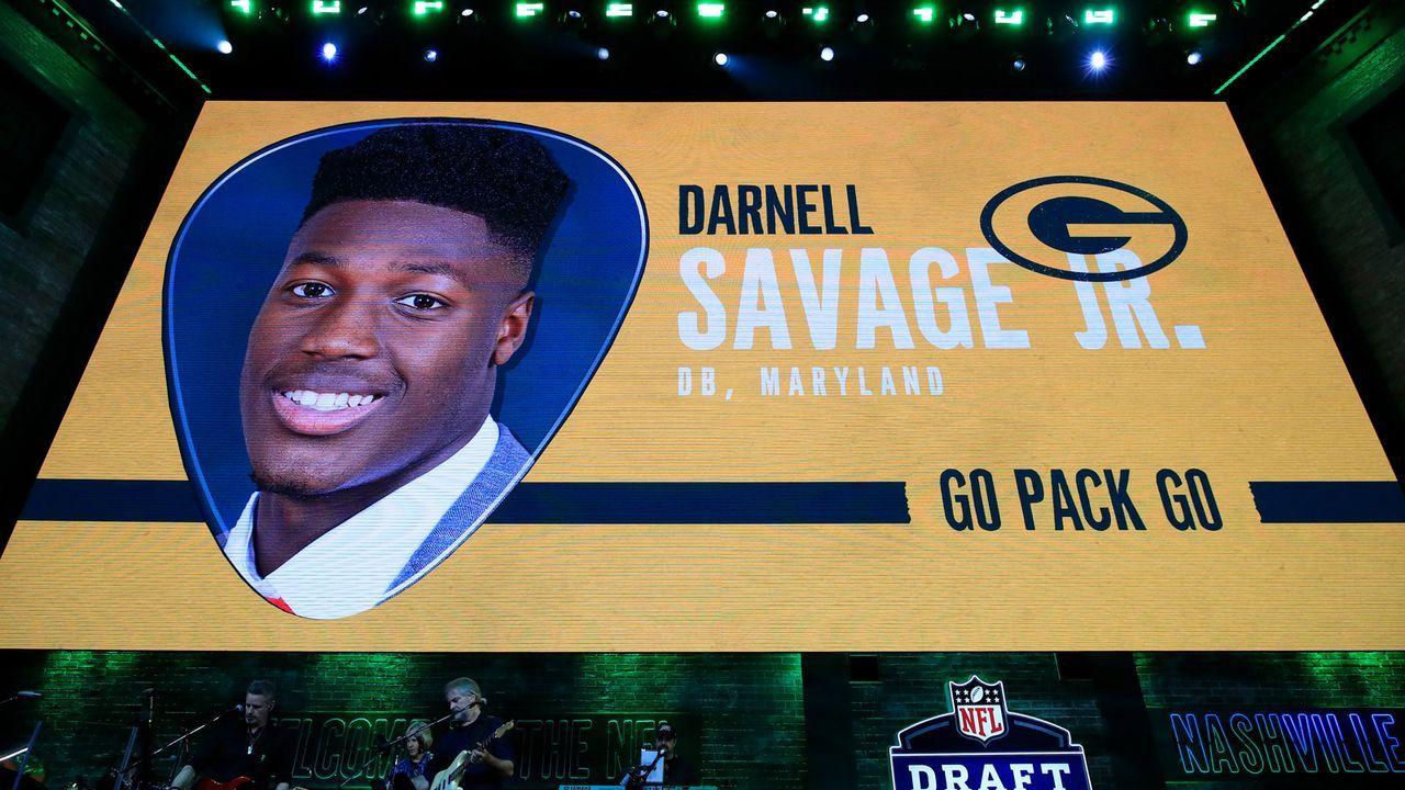 Draft Pick 21: Green Bay Packers (durch Trade mit Seattle Seahawks) - Bildquelle: Getty