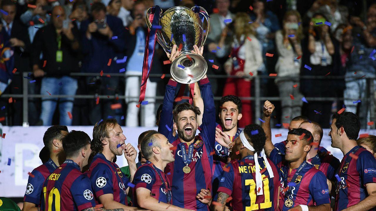 FC Barcelona (2014/15) - Bildquelle: Imago Images
