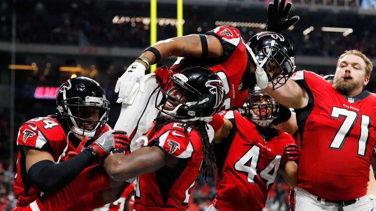 Platz 19: Atlanta Falcons - Bildquelle: 2017 Getty Images
