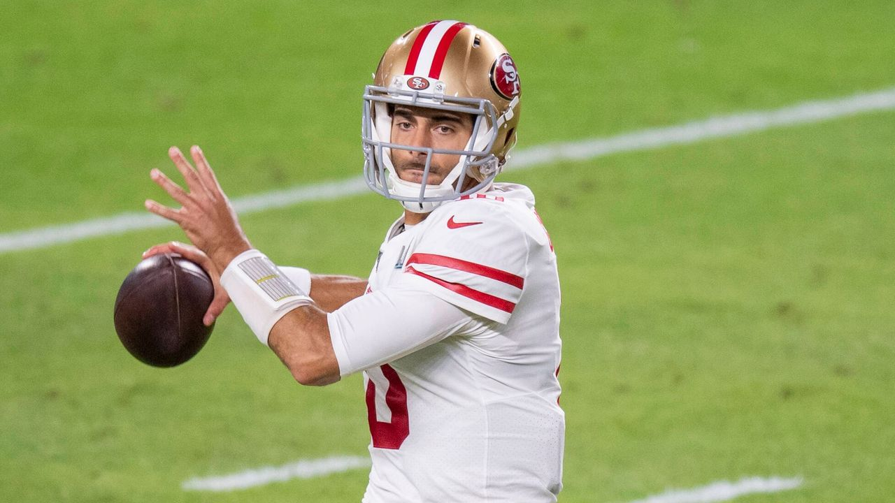 2018: Jimmy Garoppolo (San Francisco 49ers) - Bildquelle: imago