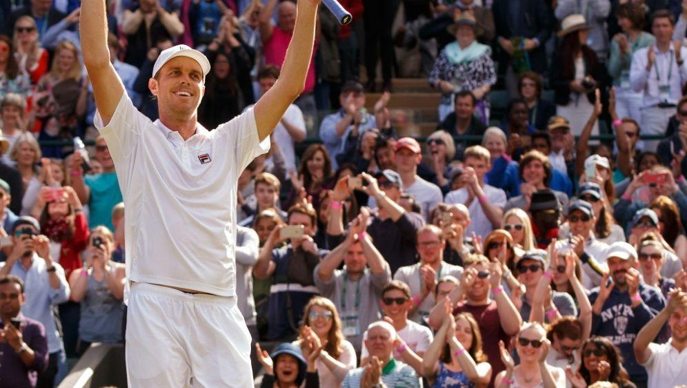 Querrey steht erstmals in einem Grand-Slam-Viertelfinale - Bildquelle: pixathlonpixathlonSID-  BEN QUEENBOROUGH